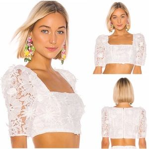 ✨NEW✨ LPA Terina Crop Top in White